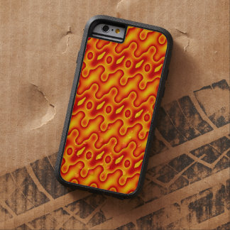 Orange röd energi tough xtreme iPhone 6 skal