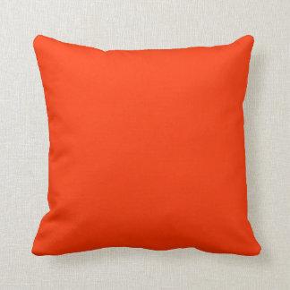 orange rött kudder kudde