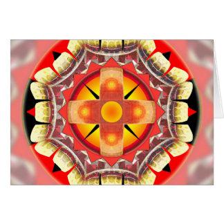Orange roulett hälsningskort