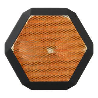 orange skiva svart bluetooth högtalare