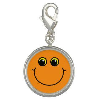 Orange smiley face berlock