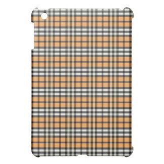 Orange/svart pläd Pern iPad Mini Fodral