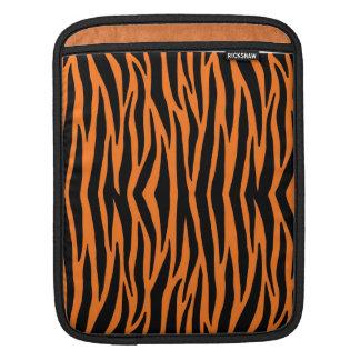 Orange tiger-/zebra ränderipad sleeve sleeves för iPads