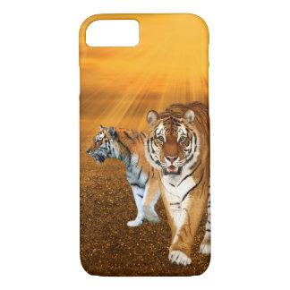Orange tigrar