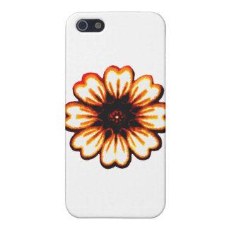 Orange transp för daisy de MUSEUMZazzle gåvorna iPhone 5 Cases