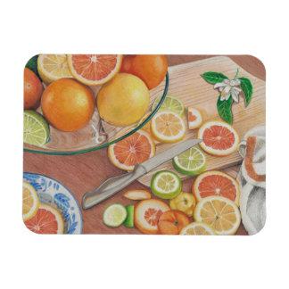 orange tryck för skivavisningkonst på magneten magnet