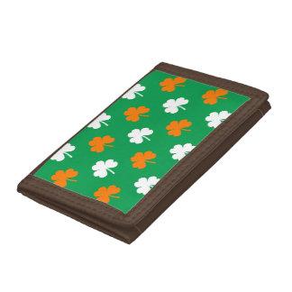 Orange- & vithjärtaklöver på gröna St Patrick