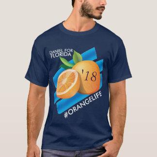#OrangeLife/Daniel för den Florida T-tröja T Shirts