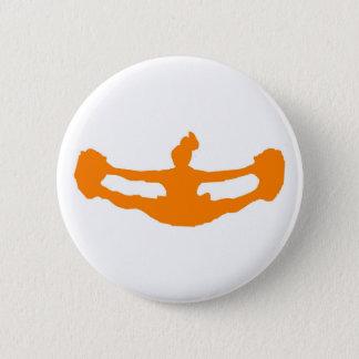 """Orangen """"L5AT US-JUBEL!"""", Knäppas Standard Knapp Rund 5.7 Cm"""