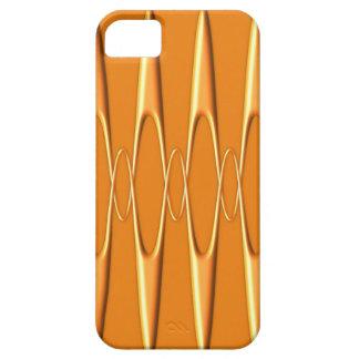 Orangen pulserar iPhone 5 Case-Mate skydd