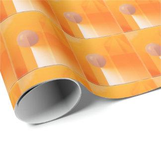 Orangen skuggar abstrakt presentpapper