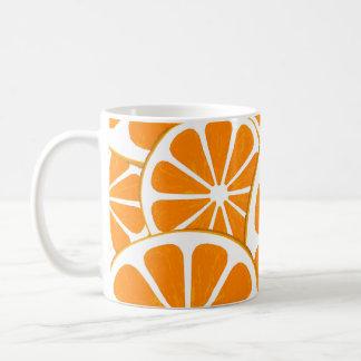 oranges. kaffemugg
