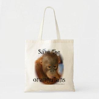 Orangutandjurlivbeskydd Budget Tygkasse