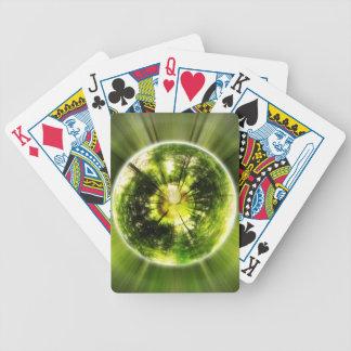 """""""Orb av liv"""" som leker kort Spelkort"""
