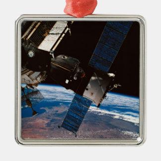 Orbiting jord 6 för utrymmestation julgransprydnad metall