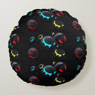 Orbs 3D av färg Rund Kudde