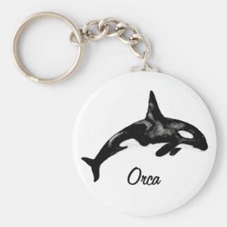 Orca Rund Nyckelring