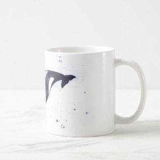 Orcaspäckhuggareillustration Kaffemugg