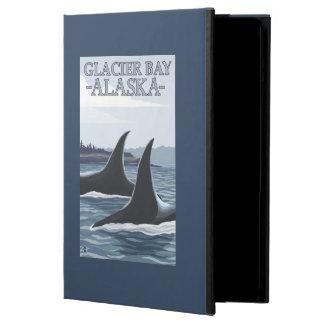 Orcaval #1 - glaciärfjärd, Alaska iPad Air Skal