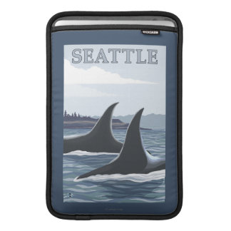 Orcaval #1 - Seattle, Washington MacBook Air Sleeve