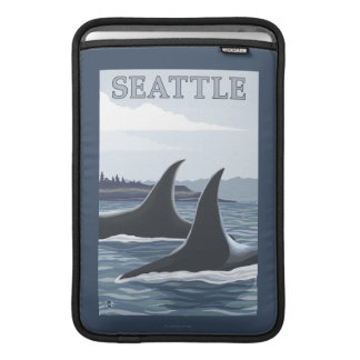 Orcaval #1 - Seattle, Washington MacBook Sleeve