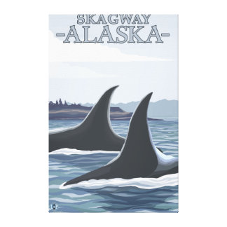 Orcaval #1 - Skagway, Alaska Canvastryck