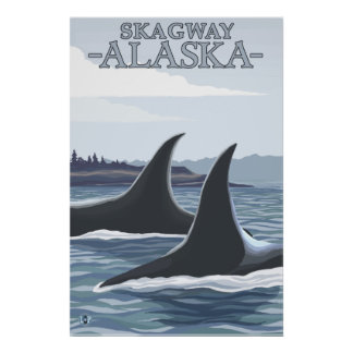 Orcaval #1 - Skagway, Alaska Poster