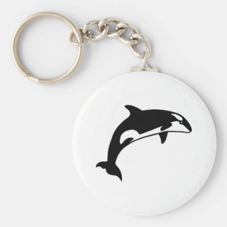 Orcaval Rund Nyckelring