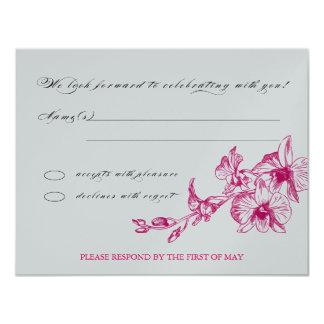 OrchidOSA 10,8 X 14 Cm Inbjudningskort
