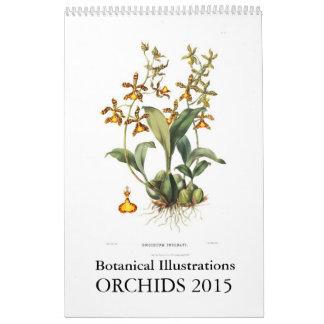 Orchids 2015 kalender