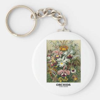 Orchids (Artforms av naturen) Nyckel Ringar