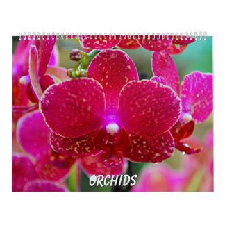 Orchids Kalender