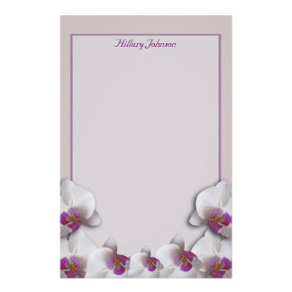 Orchids som gifta sig brevpapper
