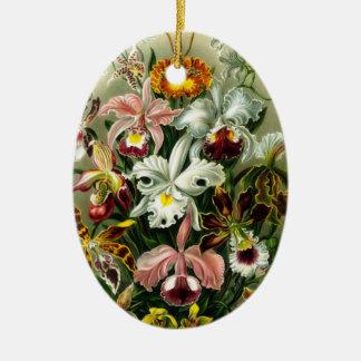 Orchidsprydnad Julgransprydnad Keramik