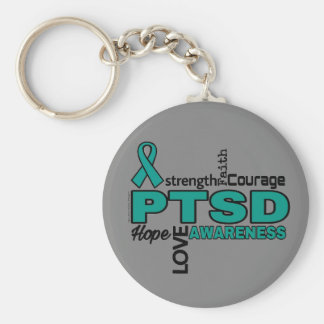 Ord… PTSD Rund Nyckelring