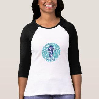 """""""Ord upp"""" 3/4 sleeveRaglanT-tröja T Shirt"""
