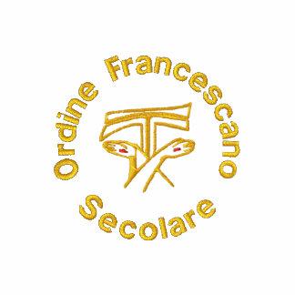 Ordine Francescano Secolare - sekulära Franciscans Broderad Tröja