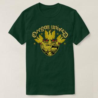 Oregon förenade den trefaldiga örnen t shirt