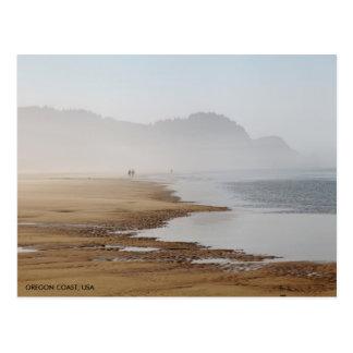 Oregon kustenstrand vykort