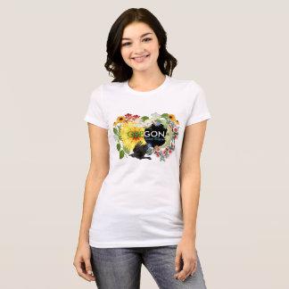 Oregon sol- förmörkelsekvinna TShirt Tee Shirt