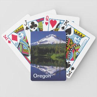 Oregon som leker kort spelkort