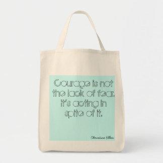 Organic courage bag mat tygkasse