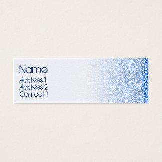ORGANICSblått Litet Visitkort