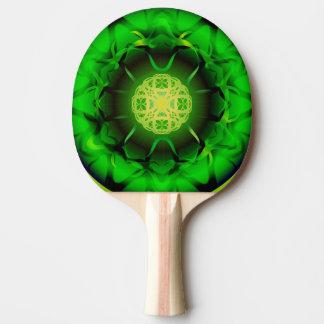 Organisk grön Mandala Pingisracket