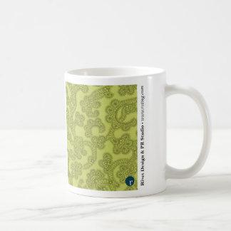 Organisk grön mugg