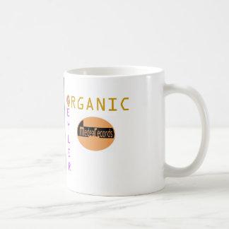 Organisk kopp vit mugg