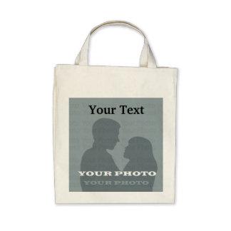 Organisk livsmedeltoto din foto- textmall kasse