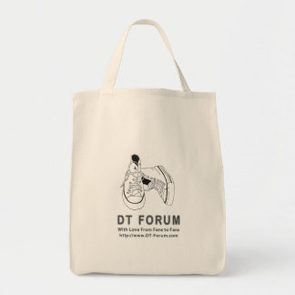 Organisk logotyp för fora för tote bag