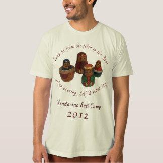 Organisk T-tröja för Mendo Sufi läger 2012 T-shirt