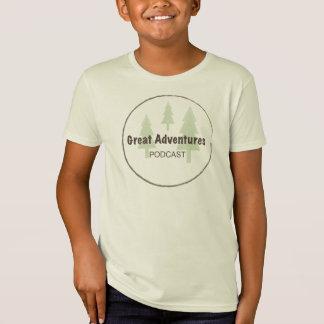Organisk T-tröja för ungar Tee Shirts